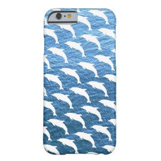 Teste padrão do golfinho capa barely there para iPhone 6