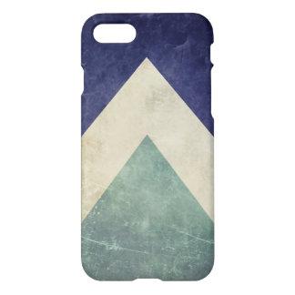 Teste padrão do triângulo do vintage capa iPhone 7