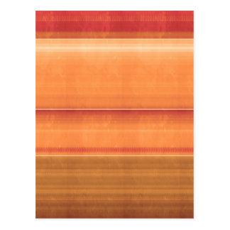 Teste padrão dourado ORIGINAL artístico NVN294 Low Cartões Postais