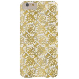 Teste padrão elegante à moda barroco bonito capas iPhone 6 plus barely there