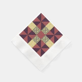 Teste padrão estofando 1 do vintage - guardanapo