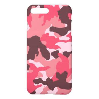 Teste padrão feminino da camuflagem de Brown do Capa iPhone 7 Plus