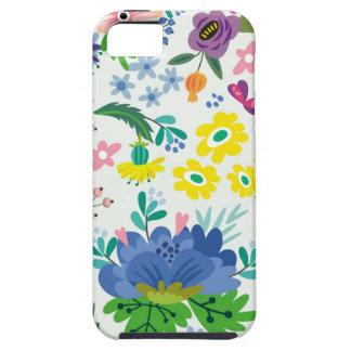 Teste padrão floral capa para iPhone 5