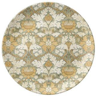 Teste padrão floral por William Morris - placa da Prato De Porcelana