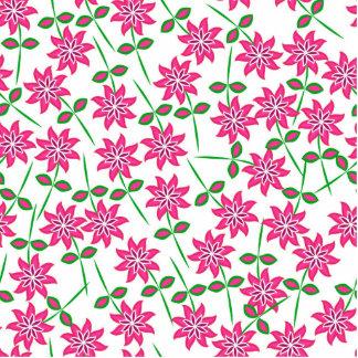 Teste padrão floral verde cor-de-rosa abstrato foto escultura