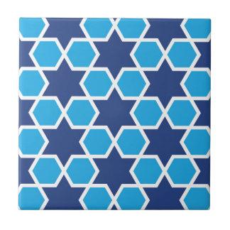 teste padrão geométrico islâmico azulejo quadrado pequeno