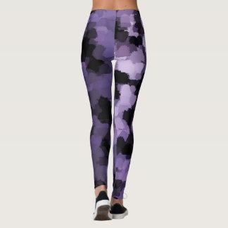 teste padrão na moda moderno das caneleiras do leggings