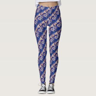 Teste padrão oriental leggings