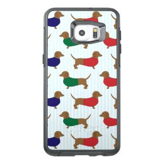 Teste padrão Otterbox Samsung S6 do Dachshund mais