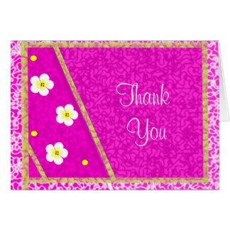 Teste padrão roxo bonito e aniversário das flores  cartões