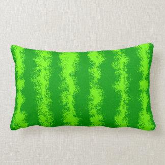 Teste padrão verde da casca da fruta do verão da almofada lombar