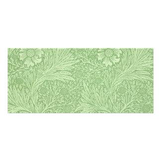 Teste padrão (verde) do cravo-de-defunto de 10.16 x 22.86cm panfleto