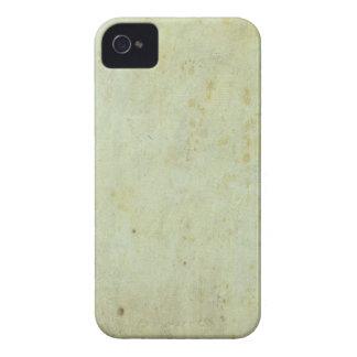 Teste padrão verde retro do Grunge iPhone 4 Capas