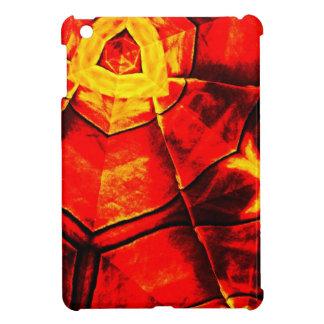 Teste padrão vermelho desvanecido capa para iPad mini