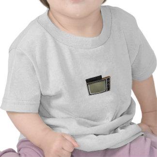 tevê e VCR do estilo do anos 80: modelo 3D Camisetas