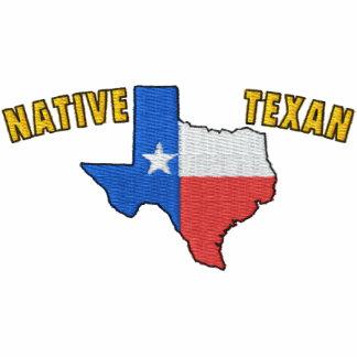 Texan nativo camisa bordada camiseta bordada polo