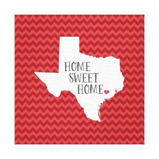 Texas Chevron moderno Home doce Home