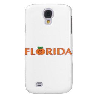 Texto da laranja de FLORIDA Capa Samsung Galaxy S4