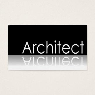 Texto reflexivo - arquiteto - cartão de visita