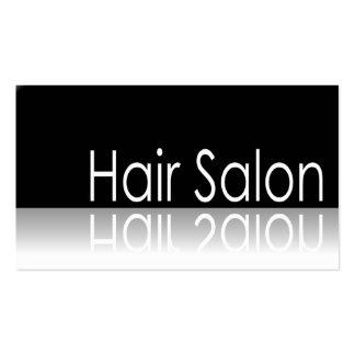 Texto reflexivo - cabeleireiro - cartão de visita