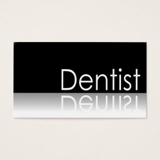 Texto reflexivo - dentista - cartão de visita