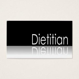 Texto reflexivo - dietista - cartão de visita