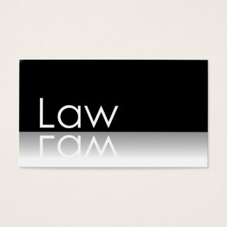 Texto reflexivo - lei - cartão de visita