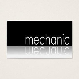Texto reflexivo - mecânico - cartão de visita