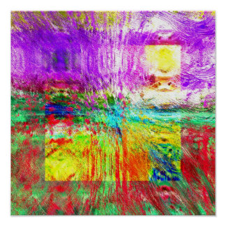 Textura 1,2 da paisagem pôsteres