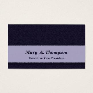 Textura azul escuro cartão de visitas