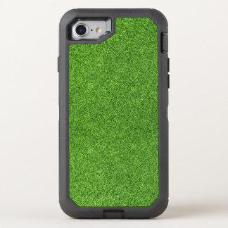 Textura bonita da grama verde do campo de golfe capa para iPhone 7 OtterBox defender