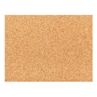 Textura da cortiça cartoes postais