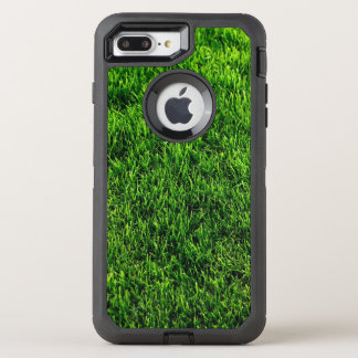 Textura da grama verde de um campo de futebol capa para iPhone 7 plus OtterBox defender