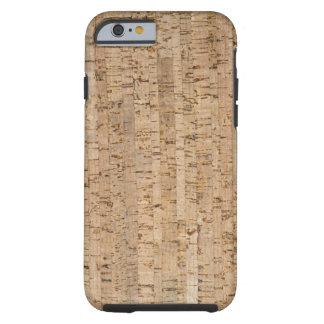 textura do Cortiça-carvalho Capa Para iPhone 6 Tough