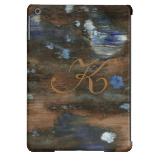 textura envelhecida inicial personalizada capa para iPad air