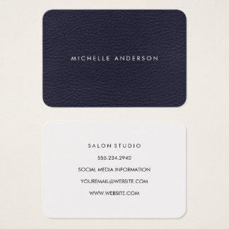 Textura minimalista cartão de visitas