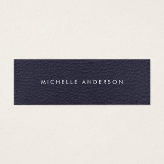 Textura minimalista cartão de visitas mini