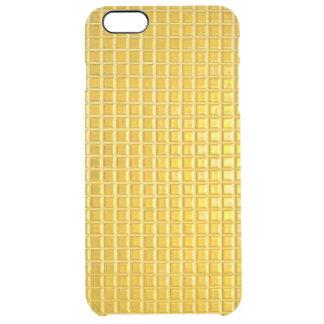 texturas do ouro capa para iPhone 6 plus clear
