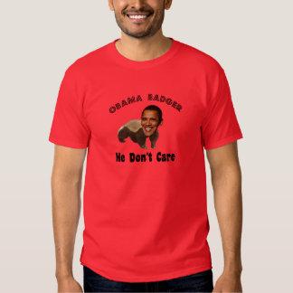 Texugo Obama de Obama político Tshirts