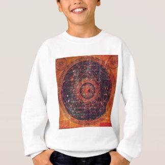 Thangka astronômico tibetano camiseta