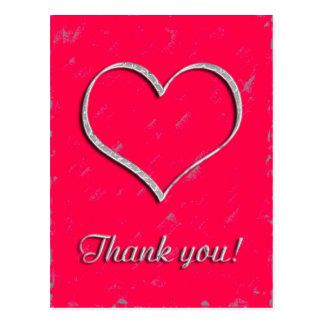Thank you cartão postal