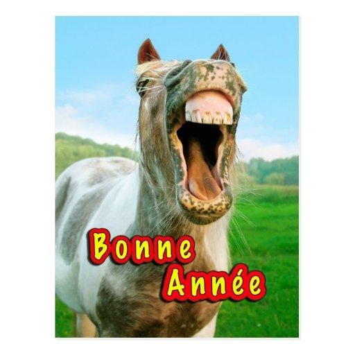 The happy Horse Cartão Postal