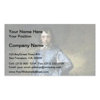 Thomas Gainsborough- o menino azul Cartões De Visitas