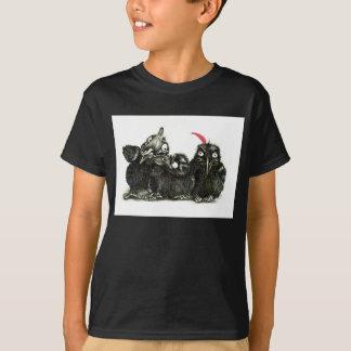 Three Ravens - Crows T-shirts