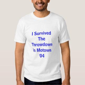 Throwdown em Motown Camisetas