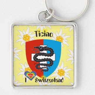 Ticino Tessin porta-chaves