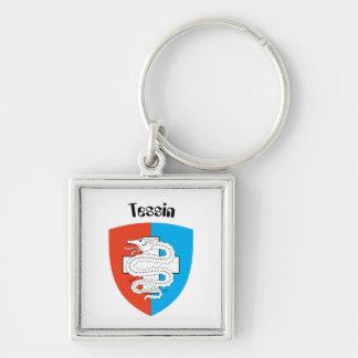 Ticino Tessin porta-chaves Chaveiros