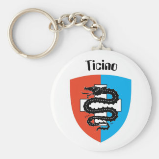Ticino Tessin porta-chaves Chaveiro