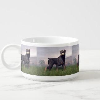 Tigela Cão de Rottweiller