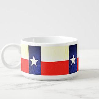 Tigela De Sopa Bacia do pimentão da bandeira de Texas